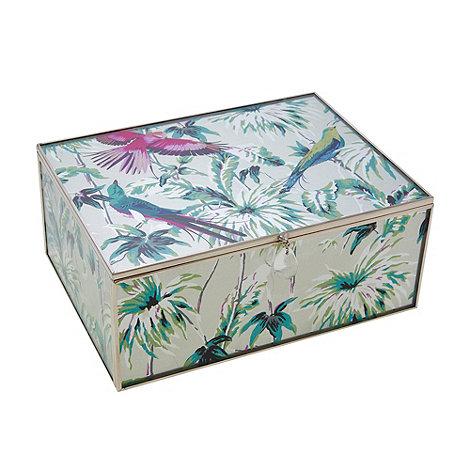Butterfly Home by Matthew Williamson - Large glass Eden print keepsake box