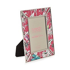 Butterfly Home by Matthew Williamson - Pink tropical print photo frame