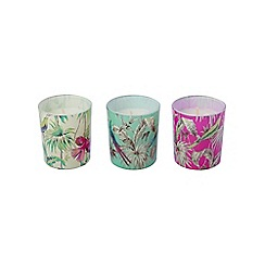 Butterfly Home by Matthew Williamson - Set of 3 print candles