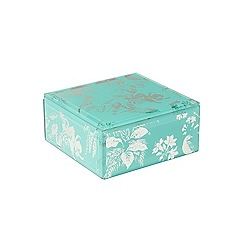 Butterfly Home by Matthew Williamson - Glass aqua jewellery box