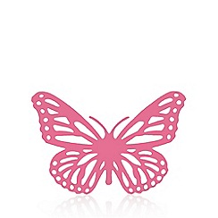 Butterfly Home by Matthew Williamson - Pink cut-out butterfly hanging attachment