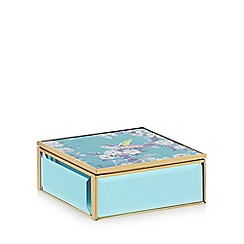 Butterfly Home by Matthew Williamson - Green floral print jewellery box