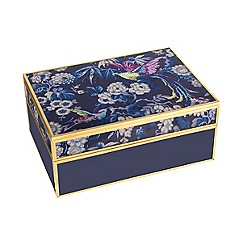 Butterfly Home by Matthew Williamson - Blue medium Paradiso jewellery box