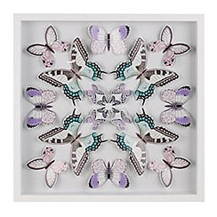 Butterfly Home by Matthew Williamson - Multi-coloured butterfly wall art