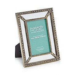 Butterfly Home by Matthew Williamson - Silver mirrored photo frame