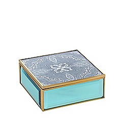 Butterfly Home by Matthew Williamson - Blue mandala small box