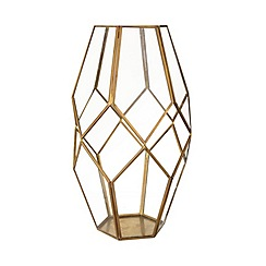 Butterfly Home by Matthew Williamson - Tall hexagonal lantern