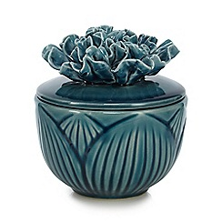 Butterfly Home by Matthew Williamson - Turquoise ceramic pot