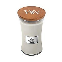 WoodWick - Warm wool large jar