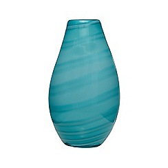 Butterfly Home by Matthew Williamson - Turquoise marble effect vase