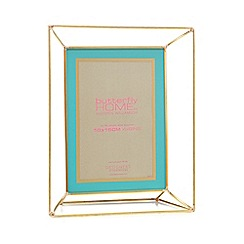 Butterfly Home by Matthew Williamson - Gold metal edge photo frame