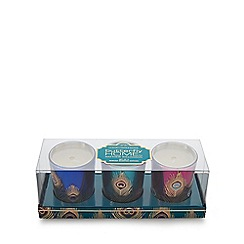 Butterfly Home by Matthew Williamson - Pack of three mimosa scented candles