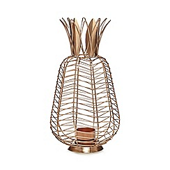 Butterfly Home by Matthew Williamson - Bronze pineapple lantern