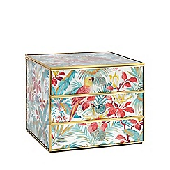 Butterfly Home by Matthew Williamson - Multi-coloured glass drawer unit