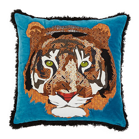 abigail-ahern-edition - Tiger applique cushion