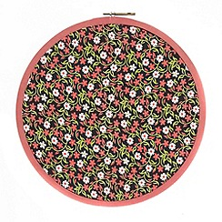 Debenhams - Red floral pin board