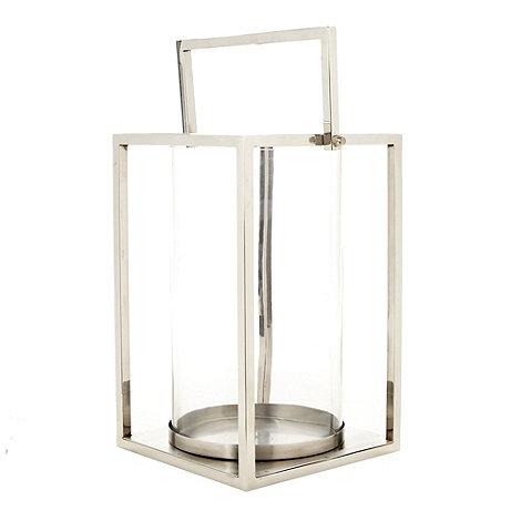 Debenhams - Silver large lantern