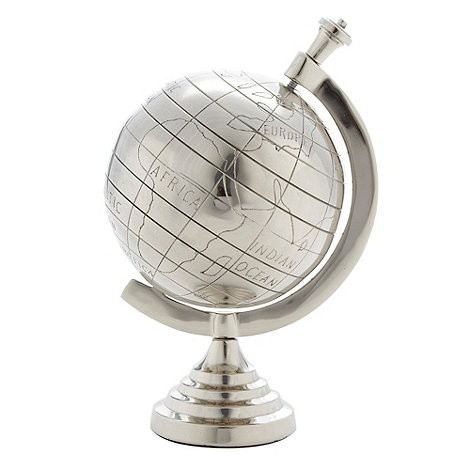 Debenhams - Metal globe ornament