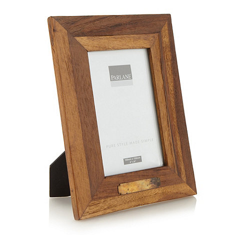 Parlane - Wooden 4x6 inch photo frame