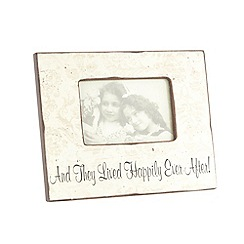 Heaven Sends - Wood 'Happily Ever After' photo frame