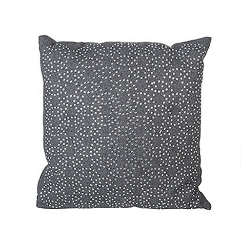 Sia - Grey circle cushion