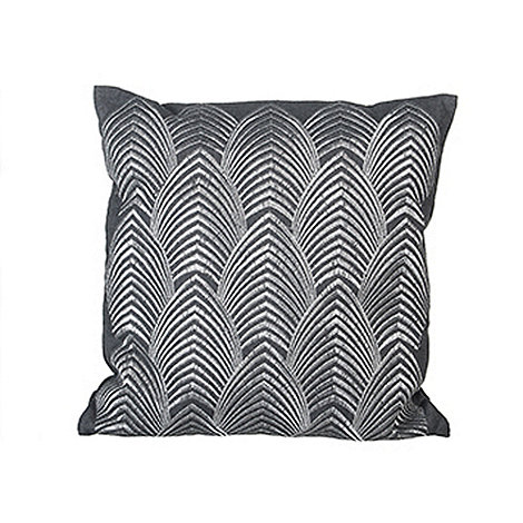 Sia - Grey waves cushion