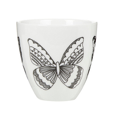 Debenhams - Porcelain nordic butterfly tea light holder