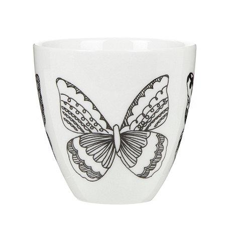 Debenhams - Porcelain nordic butterfly tea light holder