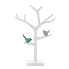 Debenhams - Wooden bird branch jewellery tree