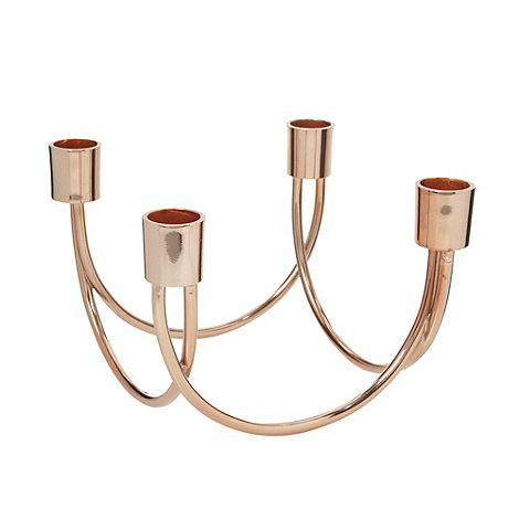 Debenhams - Bronze four candles holder