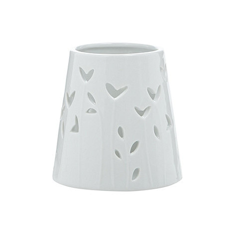 Debenhams - Porcelain hearts tea light holder
