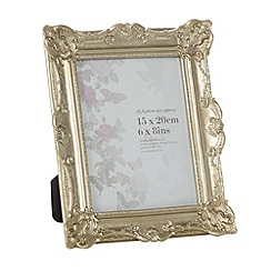 Debenhams - Resin ornate 6 x 8 inch photo frame