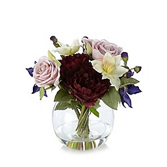 Debenhams - Mixed floral arrangement in vase