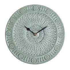 Debenhams - Ornate green wall clock