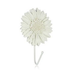 Debenhams - Ivory sunflower resin hook
