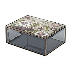 Debenhams - Botanical print decorative box