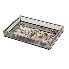 Debenhams - Botanical print tray