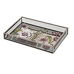 Debenhams - Botanical print tray