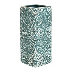 Debenhams - Sand blasted vase