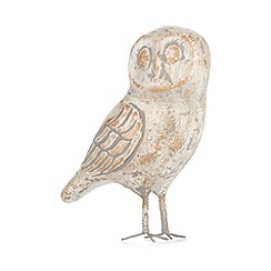 Debenhams - Natural vintage owl ornament