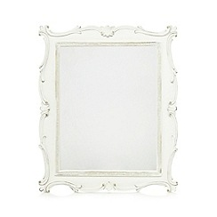 Debenhams - Cream ornate mirror