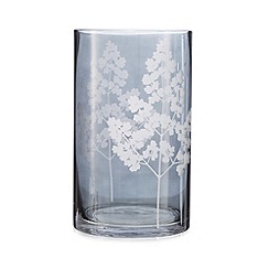 Debenhams - Black tree print vase