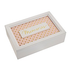 Debenhams - 'Cosmo' Polka dot 'Memories' box