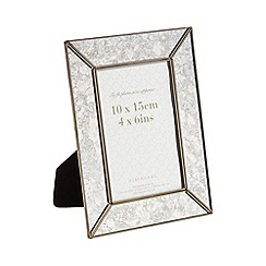 Debenhams - Silver mercury-effect photo frame