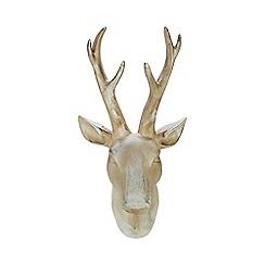 Debenhams - Silver stag head