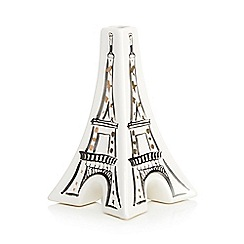 Home Collection - White 'Cosmo' Eiffel Tower vase