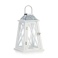 Home Collection - White lighthouse lantern