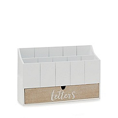Home Collection - White letters box