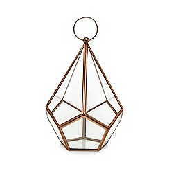 Home Collection - Copper diamond lantern