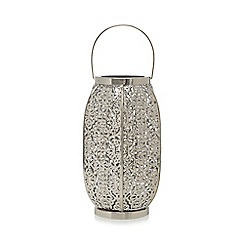 Home Collection - Silver ornate lantern